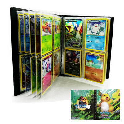 Pokemon 240 Cards Album Binder Folder Book List Collectors Capacity Holder Red