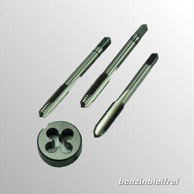 5tlg Metric Threading Linksgewinde Schneideisen Werkzeugsatz M3 M4 M5 M6 M8