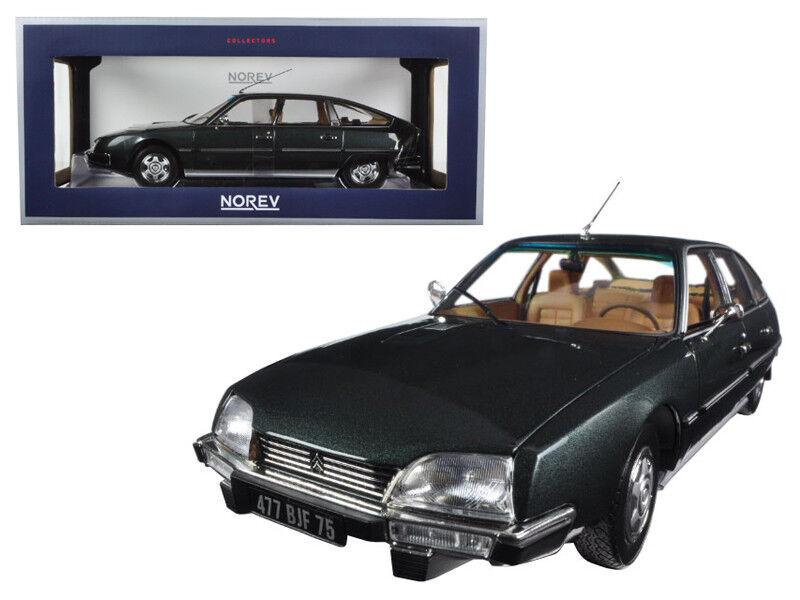 NOREV 1/18 1976 Citroen CX 2200 Pallas Gris Diecast Model Car grigio  181522