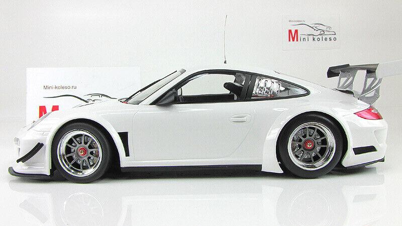Échelle Voiture 1 18,  PORSCHE 911 GT3R-rue - 2010-Blanc  juste pour toi
