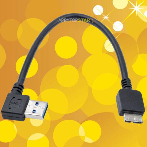 8 inch 20 cm USB 3.0 A Male to Micro 3.0 B Male Converter Adaptor Cable Cord