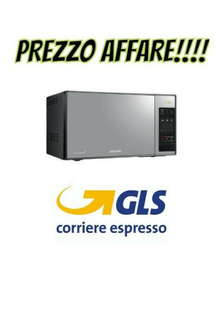 Samsung forno a microonde ME83X 23L 800 W ARGENTO