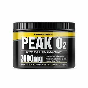 PrimaForce Peak O2 Powder Supplement, 120 Grams ? Improves O2 Uptake and VO2