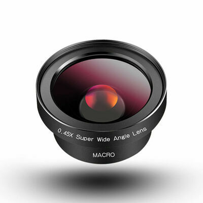 HD Phone Camera Lens for Mobile Phone iPhone and Samsung Wide Angle & Macro Lens