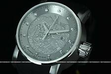 New Invicta S1 YAKUZA Dragon NH35A 24 Jewels Automatic S.S Silicone Strap Watch
