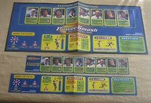 Reasonable 1999 Sega Power Smash Jp Artworks Diversified Latest Designs Arcade Gaming