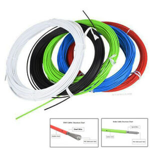 2M-Bicycle-Brake-Shift-Cable-Housing-Cable-Hose-Kit-for-Shimano-Sram-Road-SD