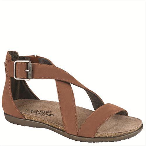Naot Rianna Mujer Zapatos Sandalias Cuña De Cuero Gladiador Plano Tanga Nuevo Punta Abierta