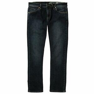 Volcom-Vorta-Pantalon-Homme-Jeans-Bleu-Vintage-Toutes-Tailles