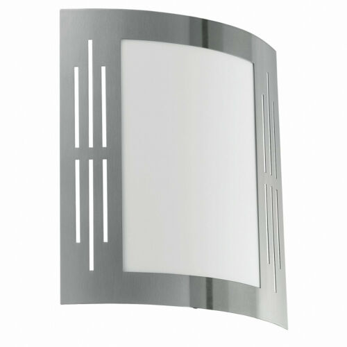 Wandaußenleuchte Acier Inoxydable e27 Massif Acier Inoxydable Mur de la maison Luminaire extérieur Lampe