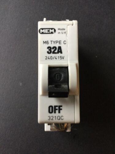 MEM 321QC 32A Tipo C M6 Reja de desminado