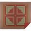 GATLINBURG-QUILT-SET-choose-size-amp-accessories-Log-Cabin-Block-Red-VHC-Brands thumbnail 5