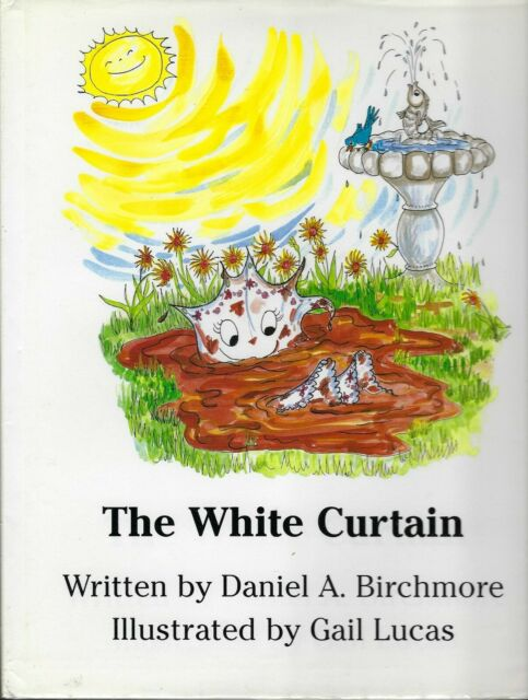 THE WHITE CURTAIN - finds freedom from closed window by Daniel A. Birchmore, HB