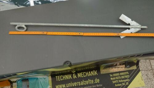 Widerhakenprinzip Erdanker Erdnagel Schlaganker 75cm //12mm f steinige Böden
