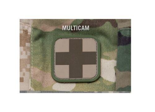 "Milspec Monkey MSM Morale PVC Patch MEDIC CROSS Choose Color Below 2/"" x 2/"""