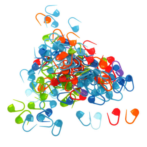 400Pcs Knitting Weave Plastic Crochet Craft Needle Clip Markers Accessories
