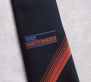 MéThodique Vintage Cravate Homme Cravate Société Corporate Club Association Masterparts-afficher Le Titre D'origine Utilisation Durable