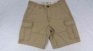 NWT-Hollister-by-Abercrombie-amp-Fitch-Mens-Shorts-Cargo-Classic-Fit-Size-32