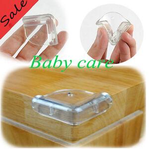 4stk l form baby kinder sicherheit eckenschutz glastisch tisch kantenschutz neu ebay. Black Bedroom Furniture Sets. Home Design Ideas