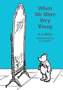 When-We-Were-Very-Young-Winnie-The-Pooh-Classic-Editions-ExLibrary
