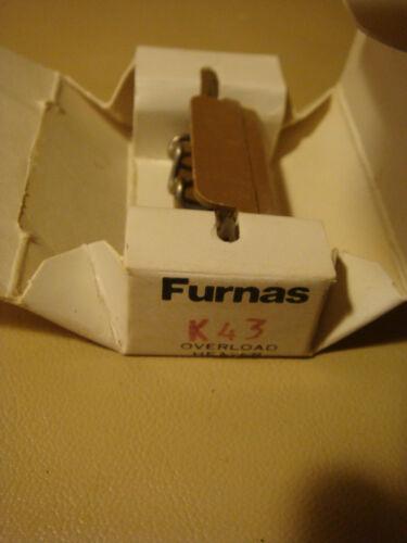 Furnas Overload Heater K43