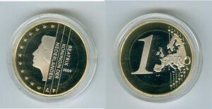Niederlande  1 Euro  PP/Proof  (Wählen Sie zwischen den Jahrgängen: 1999-2019)