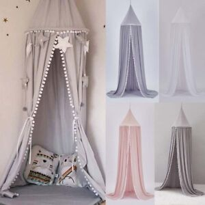 Charm Lace Insect Bed Canopy Netting Curtain Round Dome Mosquito Net Bedding Lit