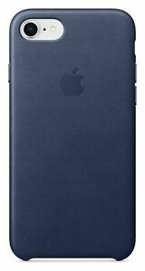 Genuine-Apple-Leather-Back-Cover-Case-for-iPhone-7-Midnight-Blue
