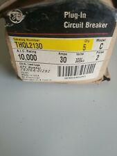 Ge General Electric Thql2130 30 Amp 2 Pole 120240vac Breaker