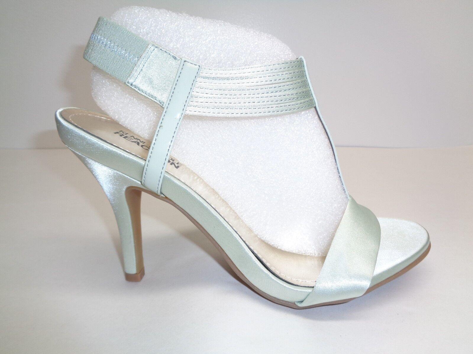 Kenneth Cole M saber forma Tacones Satén verde Menta Sandalias nuevo Zapatos para mujer
