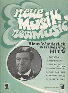 Klaus-Wunderlich-Instrumental-Hits-fuer-Klavier-7-Songs-aus-LPs-Selten