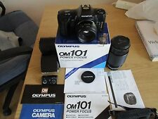 Olympus OM101 with Zoom Lens Makinon and T20 flash