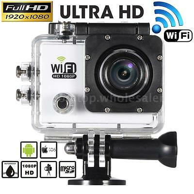 WiFi Waterproof Sport DV HD 1080P 12MP Video Action Camera Helmet Camcorder D6F7