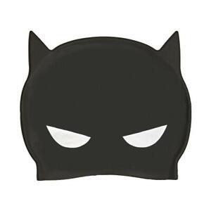 Zoggs-Batman-Junior-3D-Silicone-Swimming-Pool-Cap-in-Black