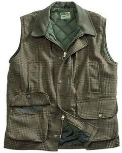Invergarry Field Hoggs Waistcoat Tweed Green Moss AqgPz