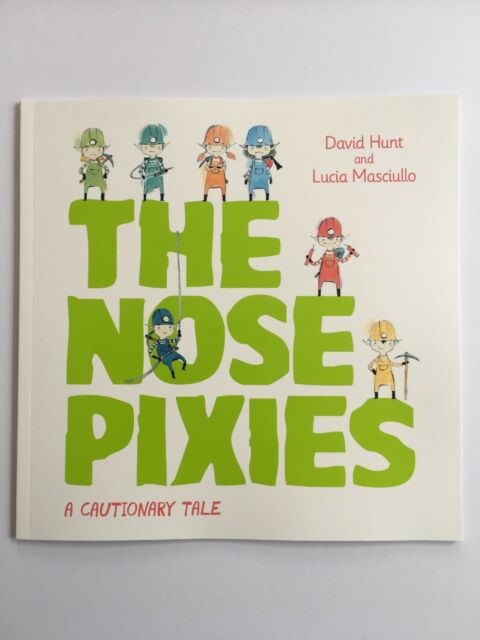 # THE NOSE PIXIES Paperback Children Picture Book 2017 by David Hunt - BRAND NEW