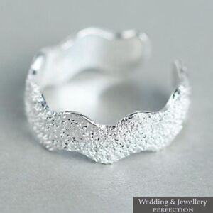 100-925-Sterling-Silver-Toe-Ring-Band-Knuckle-Fully-Adjustable-Open-Jewelry-New