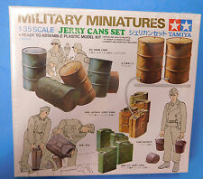 Tamiya 1/35 Oil Drum & Jerry Can Set  Plastic Model Assembly Kit #35026