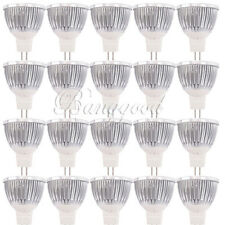Pure White MR16 9W 3 LED Energy Saving Down Spot Indoor Light Lamp DC 12V US