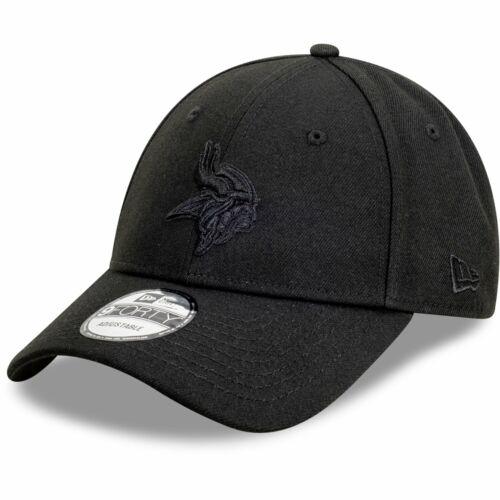 New Era 9Forty Snapback Cap FULL BLACK Minnesota Vikings