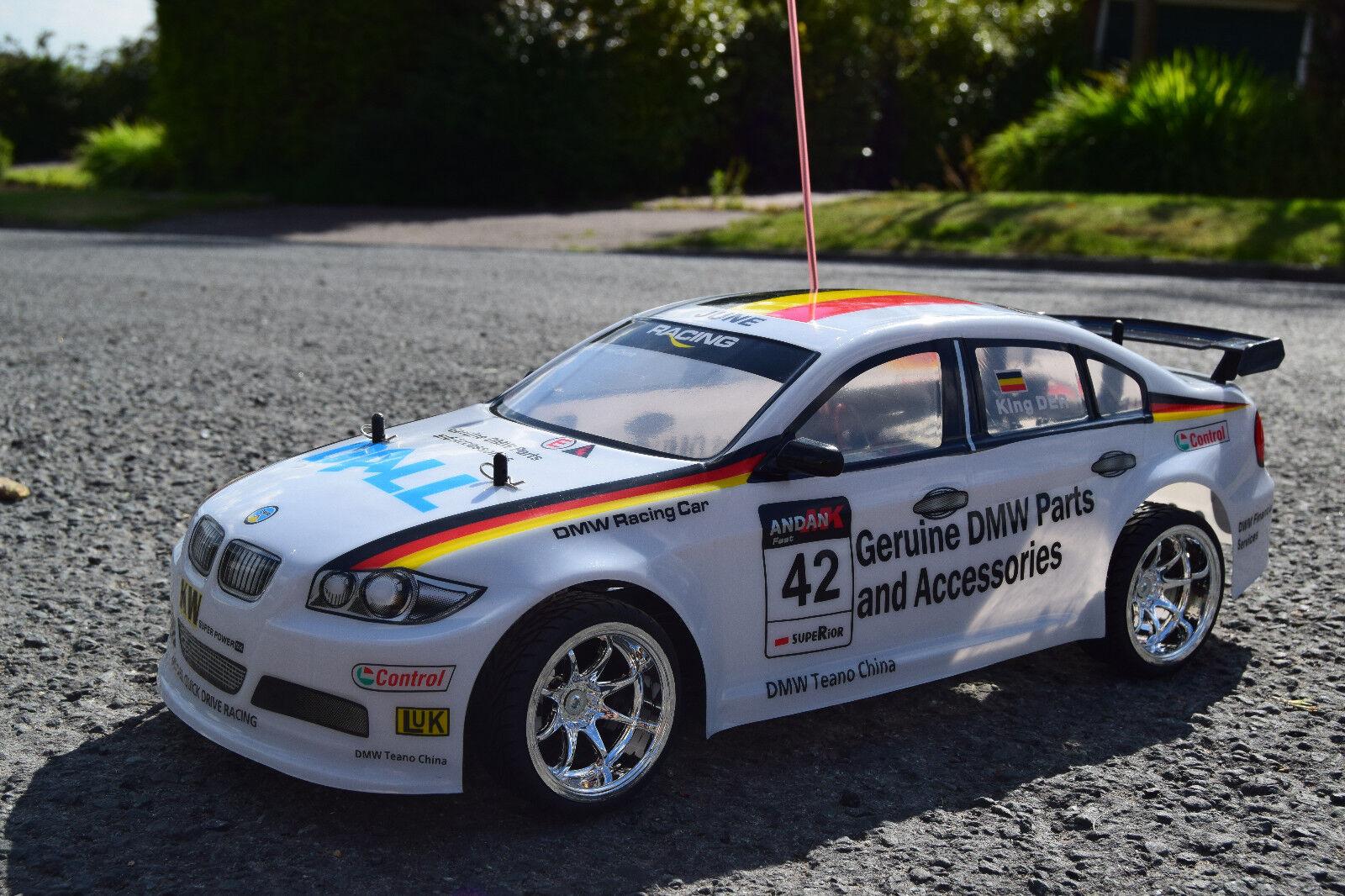 BMW M3 Ricaricabile Radio telecomando auto 1 10 RC Auto da Rally velocità 20 MPH