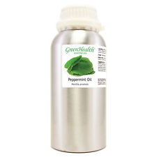 16 fl oz Peppermint Essential Oil 100% Pure Aluminum Bottle - Greenhealth