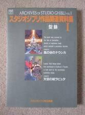 ARCHIVES OF STUDIO GHIBLI Vol.1 Art Book - Hayao Miyazaki
