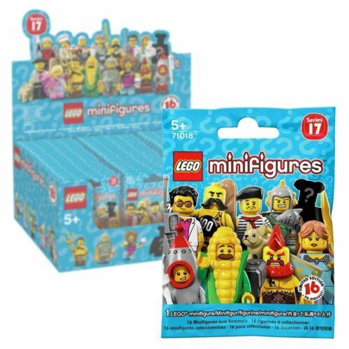 Lego 71018 SERIES 17 Minifigures Mini Figure Sealed Pack Contains 1 Figure!