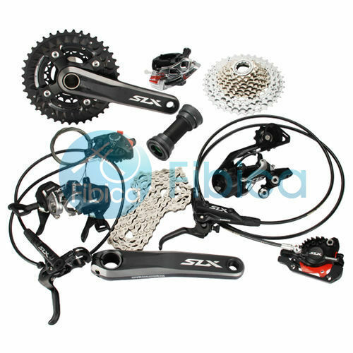 New Shimano SLX M7000 3x10 30-speed MTB Hydraulic Brake Groupset Group set