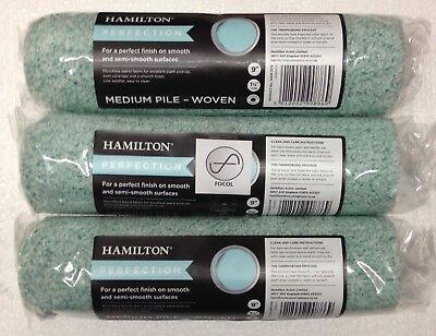 "6 x 9/"" Hamilton Perfection Medium Pile Woven Paint Rollers"