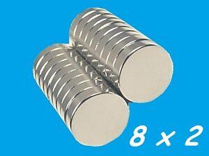 100-MAGNETI-NEODIMIO-8X2-MM-CALAMITA-POTENTE-FIMO-CERAMICA-MAGNETE-CALAMITE
