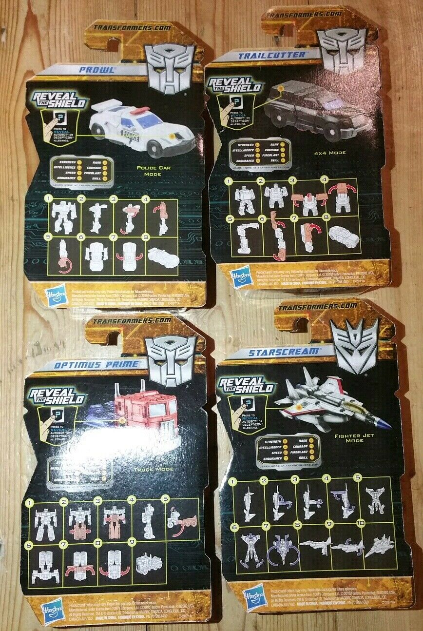 Transformers Reveal The Shield Legends Starscream Prowl Prime Trailcutter Trailcutter Trailcutter New d313ed