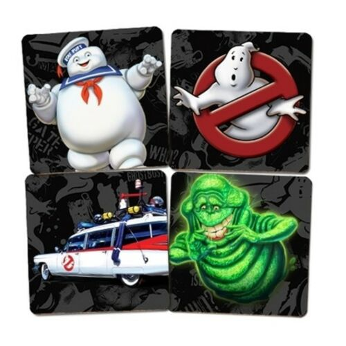 Ghostbusters Set of 4 Cork Coasters