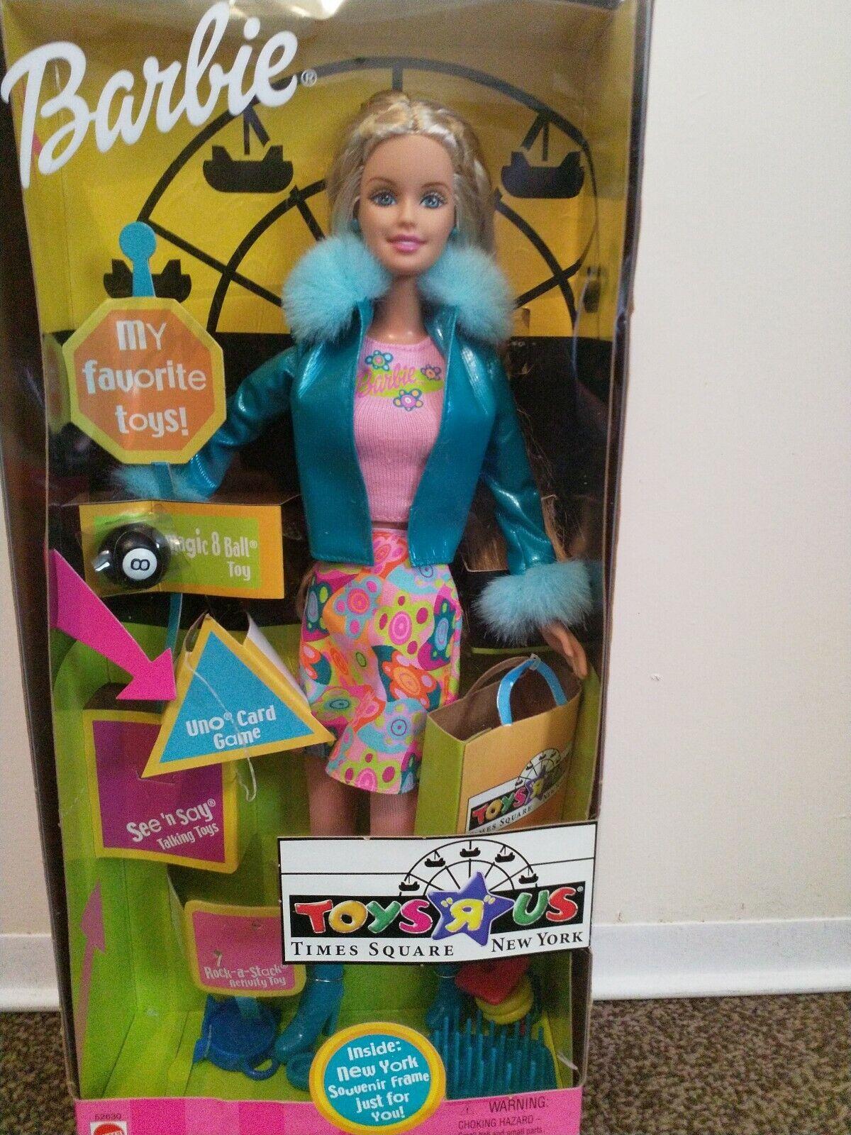 2001  Barbie giocattoli R Us Times Square nuovo York bambola Nuovo di zecca con scatola  negozio di sconto